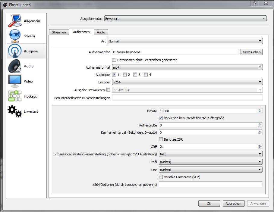 Pinnacle Studio Videoschnittprogramm und Bildschirmaufnahme
