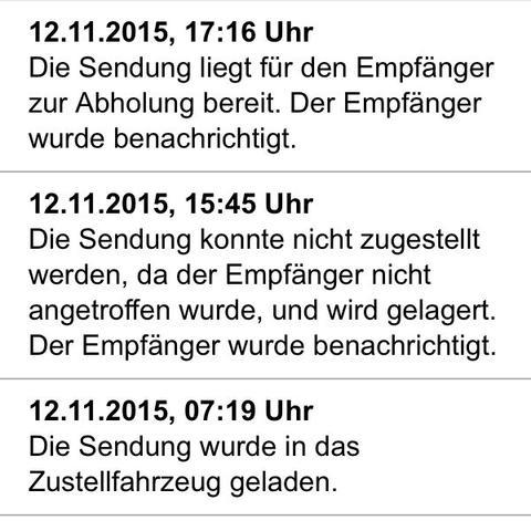 Screenshot  - (DHL, Packet packet )