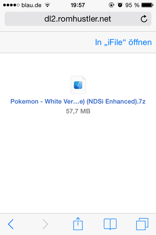 Da! - (iPhone, iOS 8, iFile)