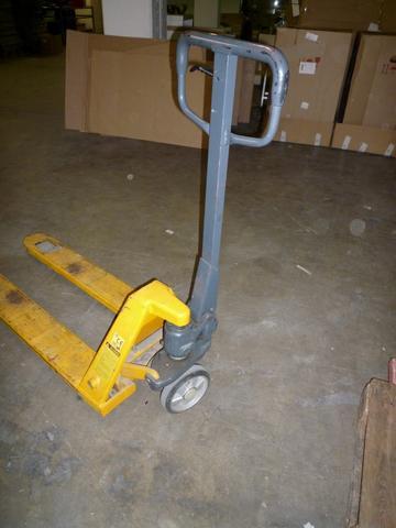 Der gelbe Hubwagen - (Werkstatt, Lager, Hydraulik)