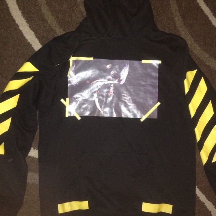 off white hoodie fake check mode fashion gucci. Black Bedroom Furniture Sets. Home Design Ideas