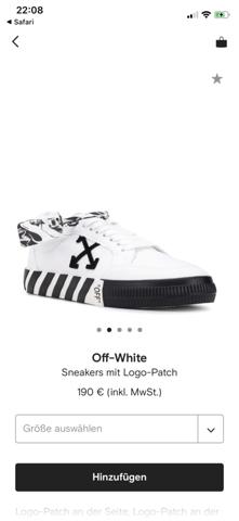 Off White Schuhe echt oder Fake?