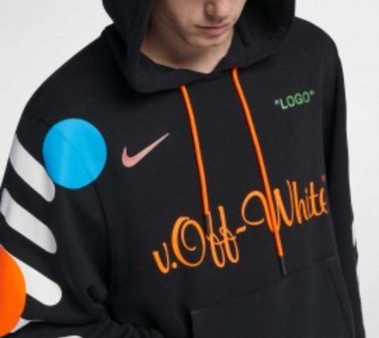 Off White x Nike Hoodie? (Kleidung, Größe, Pullover)