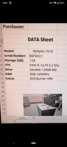 Office PC aufrüsten (Optiplex)?