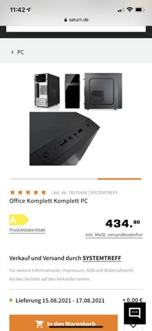 Office PC für Gaming?