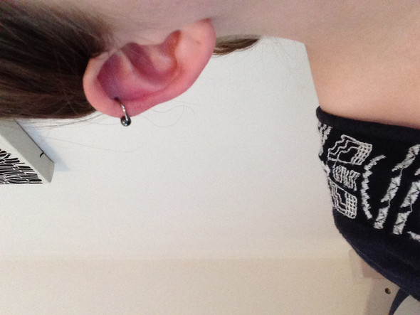 Das ist mein Ohr - (Piercing, Ohr)