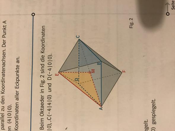 oktaeder aufgabe hilfe schule mathe. Black Bedroom Furniture Sets. Home Design Ideas