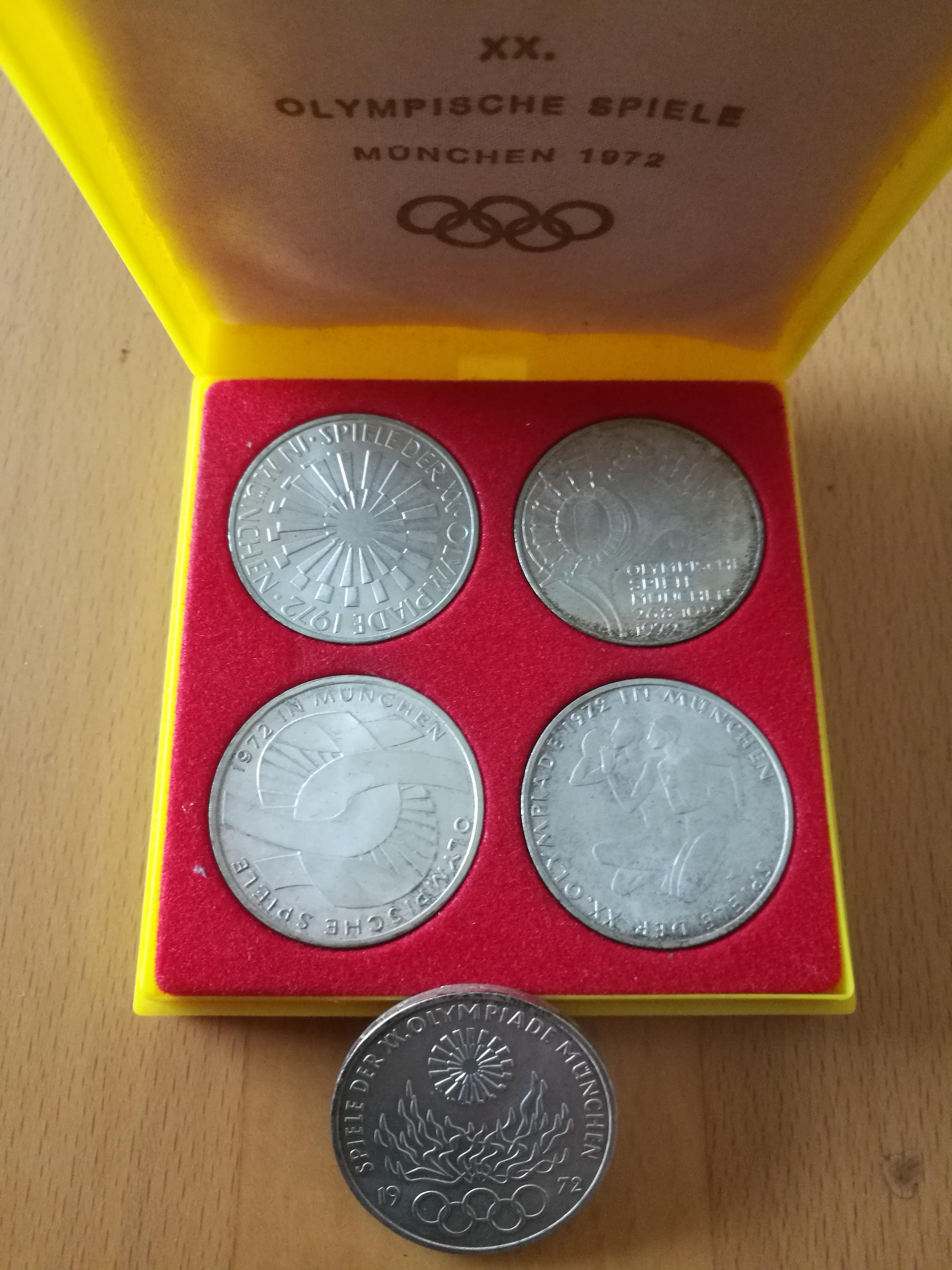 Olympia Munzen 1972 Wert