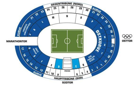Stadion - (Sport, Fußball, Berlin)
