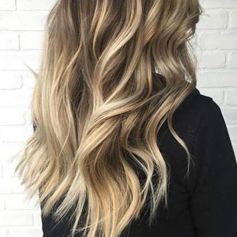 Ombré Aufhellen Alleine Haare Färben Blond