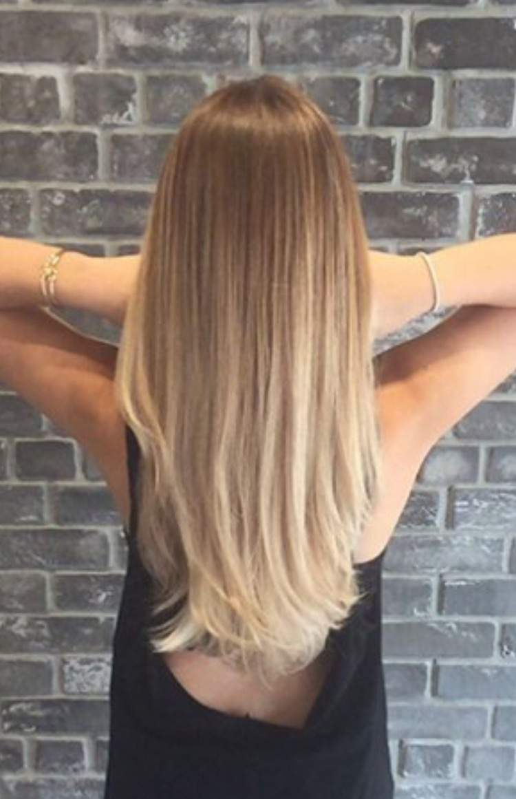 Braun ombre haarfarbe blond Ombre Hair