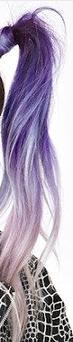 Lila! - (Haare, ombre hair)