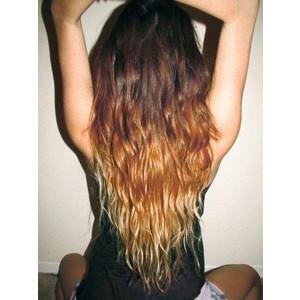 ombre hair haare kaputt blond