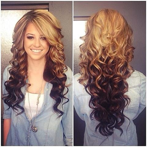 Ombreeeeeefrisuur Haare Frisur Färben