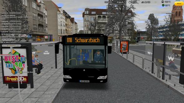 OMSI 2 Busse sind Schwarz?
