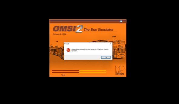OMSI 2 startet plötzlich nicht mehr?
