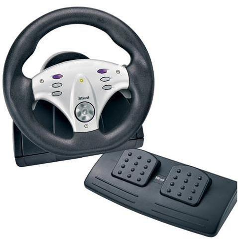 Mein PC-Lenkrad: Trust NF340 RACE MASTER - (Spiele, Simulator, Trust)