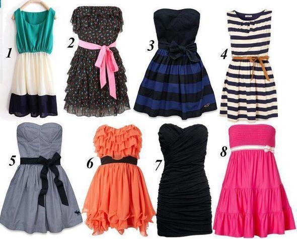 Online eines dieser Kleider kaufen? (online, kleider) (Kleidung ...