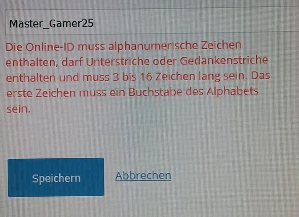 Das Bild - (Playstation, Sony, anmelden)