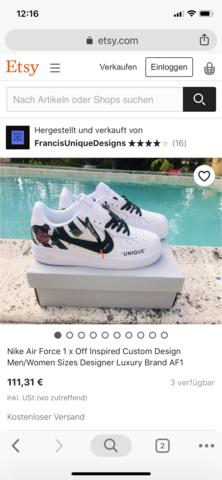 Online shop etsy?