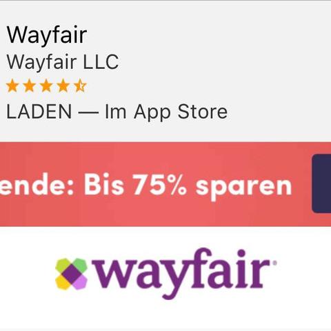 onlineshop wayfair erfahrungen online internetseite online shop. Black Bedroom Furniture Sets. Home Design Ideas