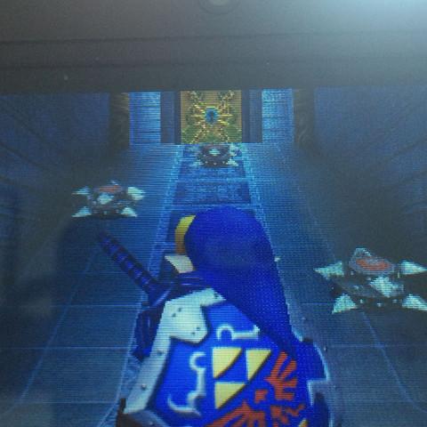 Hier rutsche ich immer ab, auch wenn ich dauernd rolle.. - (Link, Zelda, boss)