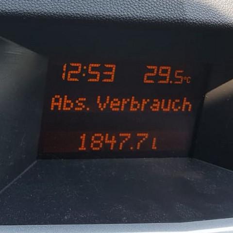 Opel Astra Bord Computer zeigt Abs. Verbrauch was heißt das?