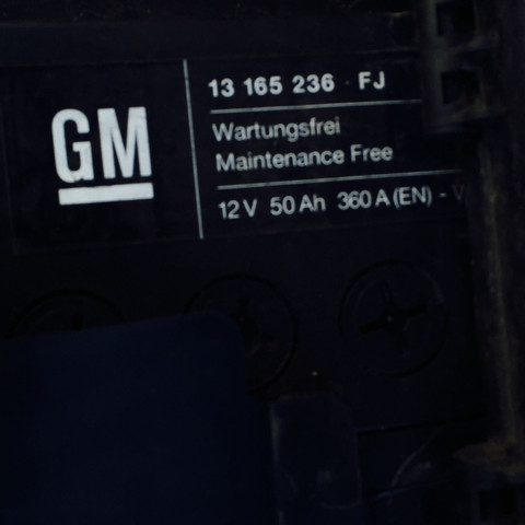 autobatterie corsa d