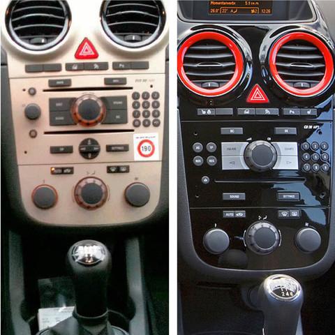 Was kostet ein Farbwechseln der Opel Corsa D Mittelkonsole von ...
