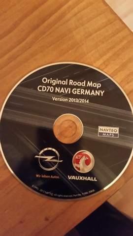Opel Zafira eingebautes Navigation mit CD. Kann man dies selber updaten?