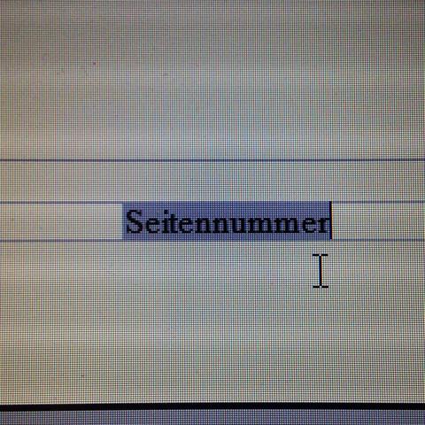 So sieht es dann aus.  - (OpenOffice, Seitenzahlen)