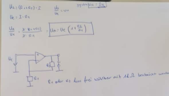 - (Schule, Elektrotechnik, Operationsverstärker)