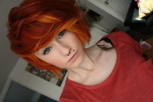 (bin nicht ich xD) - (Haare, Farbe, rot)