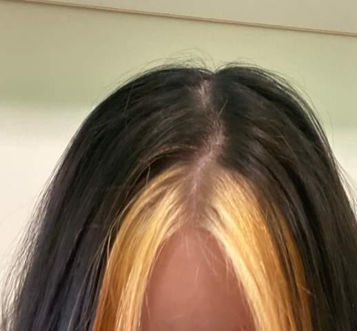 - (blondieren, Gelbe Haare)