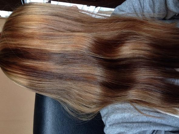 rotstich nach blondierung
