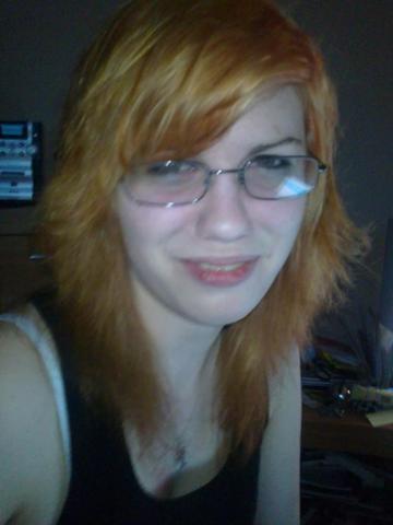 Orangene Haare Nun Lila Farben Blond Violett