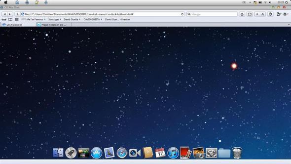 So sieht das aus und die icons unten sollen gleichzeitg auch als link dienen  - (Computer, PC, Internet)