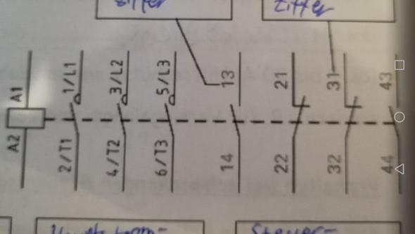 Ordnungsziffern Schütz (Elektrotechnik)? (Computer, Technik ...