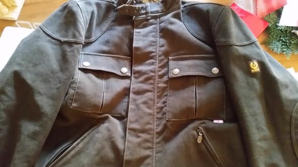 Belstaff Herren Jacke Bikerjacke Blouson H.F. Man Brown - (Kleidung, Jacke, original)