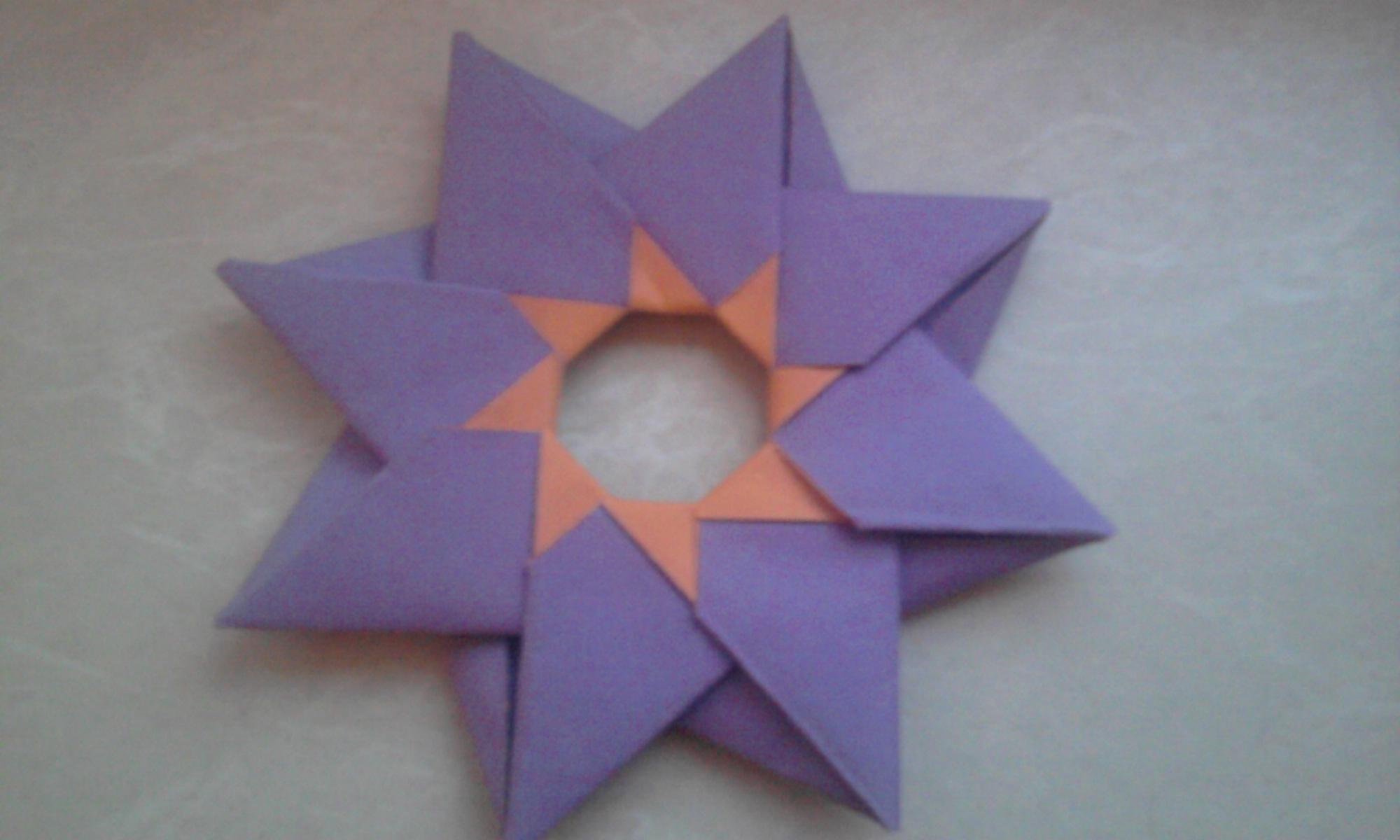 origamistern anleitung gesucht basteln