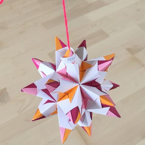 Das ist so ein Stern - (Sterne, origami)