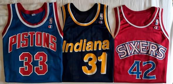 Original 90er NBA Fan Trikots: Wert?