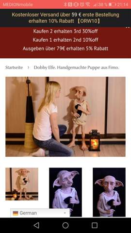 Original große Dobby Figur, zu günstig?