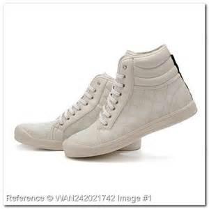 Gucci-Schuhe - (Schuhe, Foto, weiss)