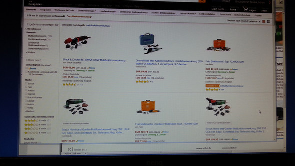 Oszillationswerkzeuge Quelle Amazon - (Freizeit, Werkzeug, Oszillation)