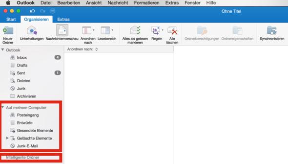 'Auf meinem Computer' & 'Intelligente Ordner' in der Sidebar - (Microsoft, Mac, Office)