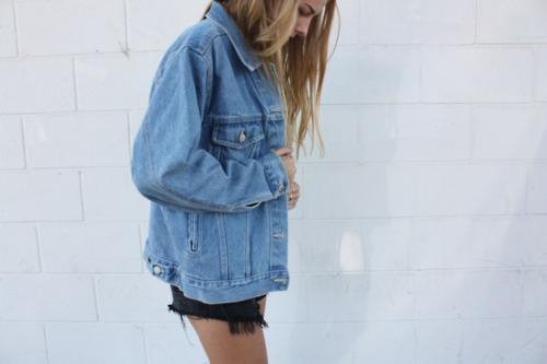 Oversized Jeansjacke Gesucht Mode Kleidung Klamotten