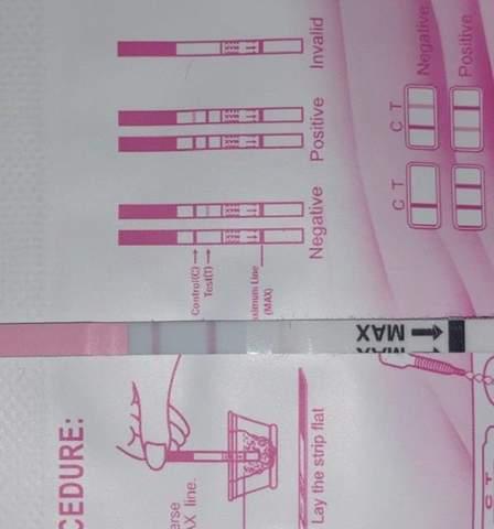 Leicht positiv ovulationstest Ovulationstest: Funktionsweise