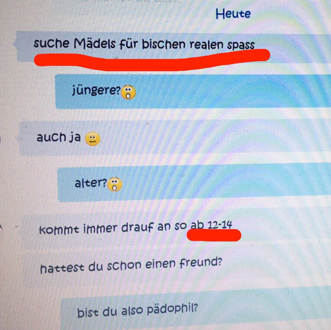 Chat Screenshot  - (Sex, Chat, Skype)