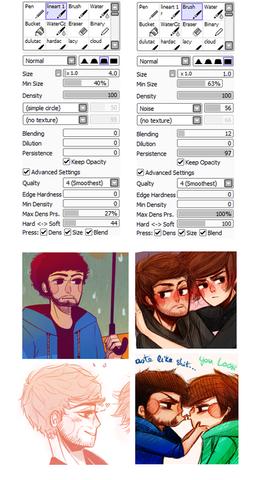 Weiteres Beispiel - (Programm, zeichnen, Paint tool sai)